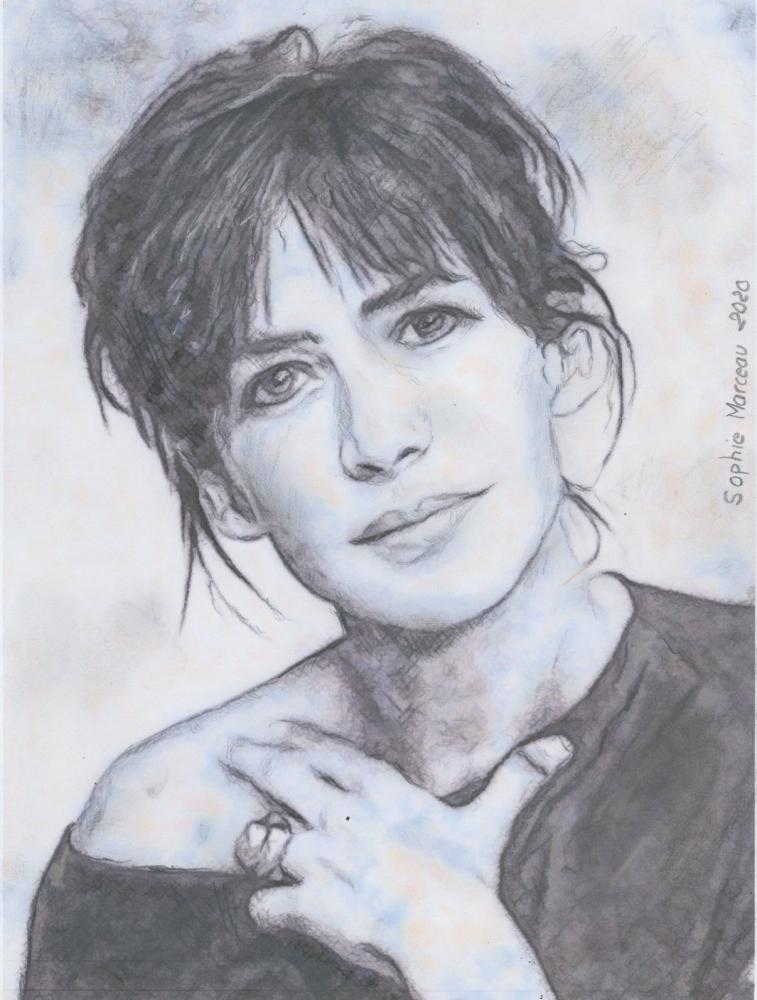 Sophie Marceau par baudet